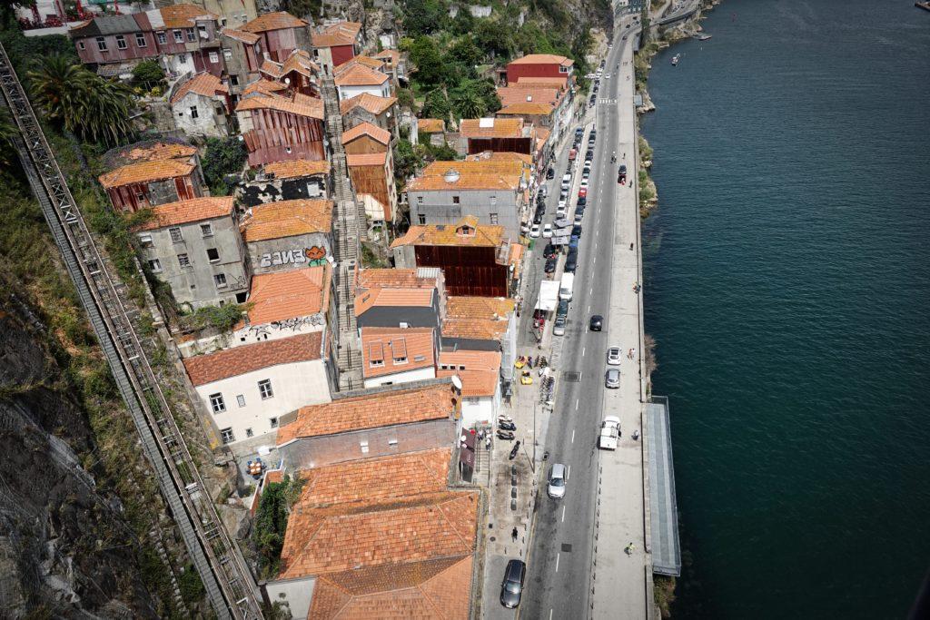 Standseilbahn in Porto